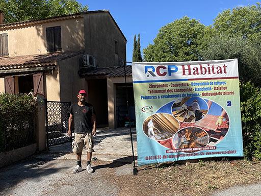 Rénovation toiture à Lorgues